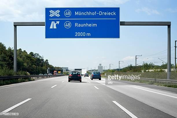 Verkehr auf der Autobahn A3