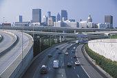 Traffic on highway , Atlanta , Georgia