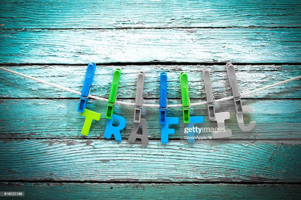 Der Verkehr  : Stock-Foto