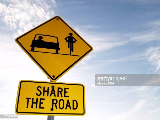 Panneau de signalisation-vélo lane