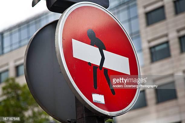 Traffic Sign Paris