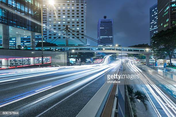 traffic through hong kong