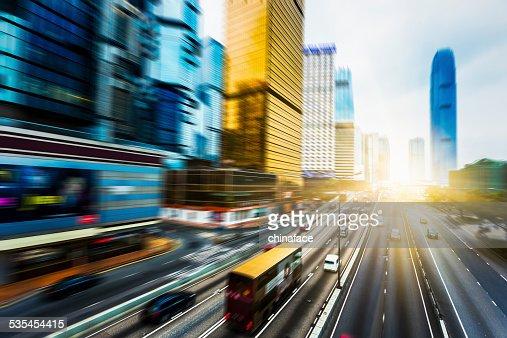 traffic through hong kong