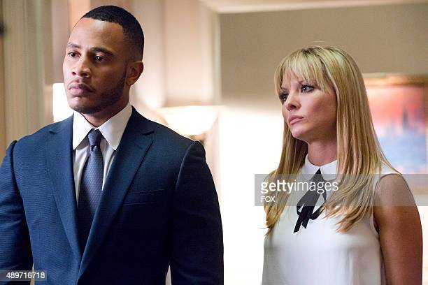 Trai Byers as Andre Lyon and Kaitlin Doubleday as Rhonda Lyon in the The Devils Are Here Season Two premiere episode of EMPIRE airing Wednesday Sept...