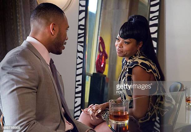 Trai Byers as Andre Lyon and Taraji P Henson as Cookie Lyon in the The Devils Are Here Season Two premiere episode of EMPIRE airing Wednesday Sept 23...