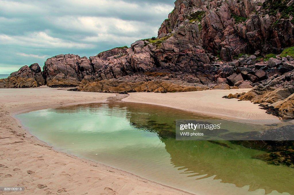 Traigh Allt Chailgeag Beach