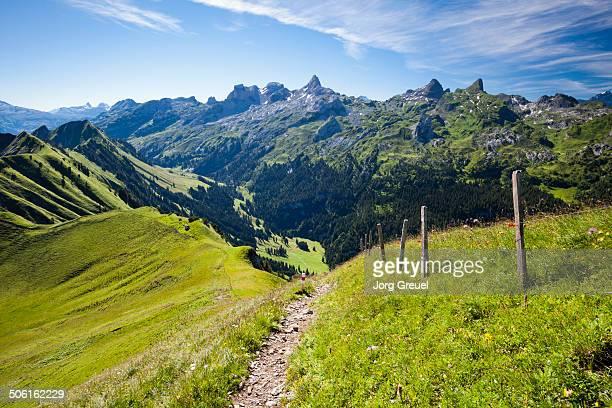 Trail at Mount Klingenstock