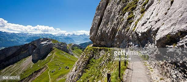 Trail at Mount Pilatus