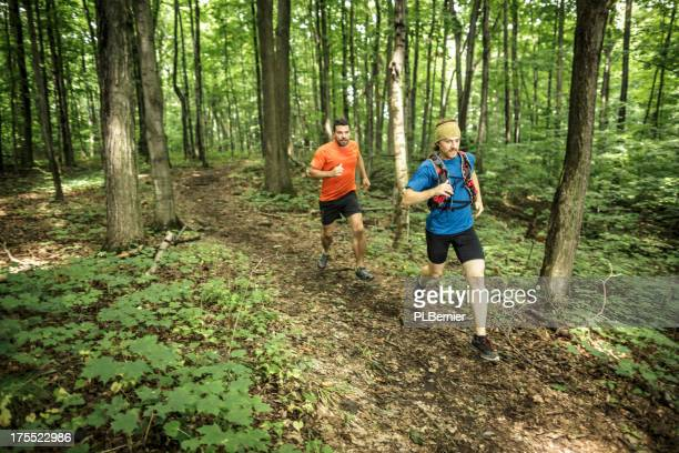 Trail runners trainning