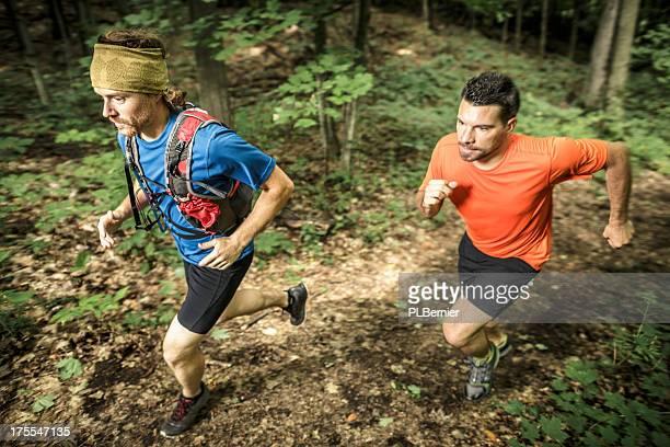 Trail runners trainning