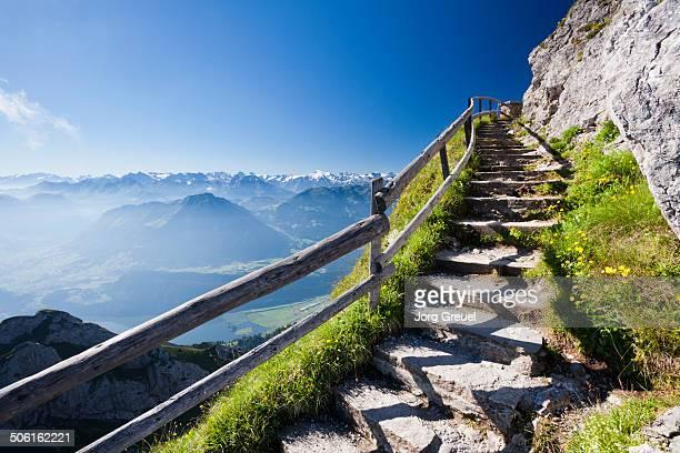 Trail to Esel summit