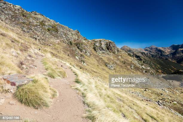 Trail to LLacs de Tristaina in the Andorran Pyrenees, Andorra