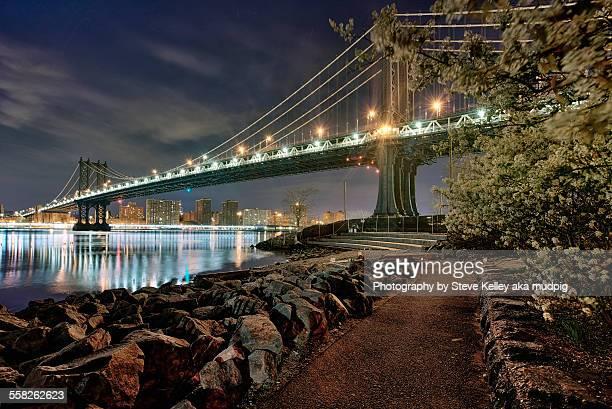 A trail to Manhattan