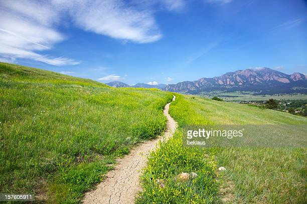 Trail der Flatirons in Boulder, Colorado