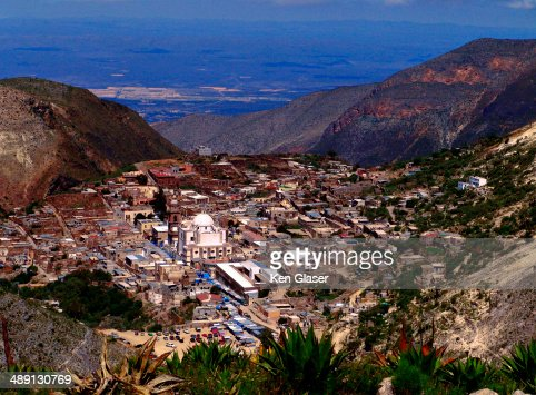 Trail view of Real de Catorce