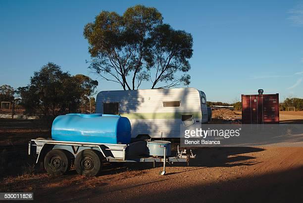 trailer and caravan