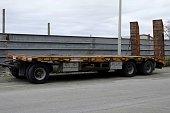 trailer truck to bisarca