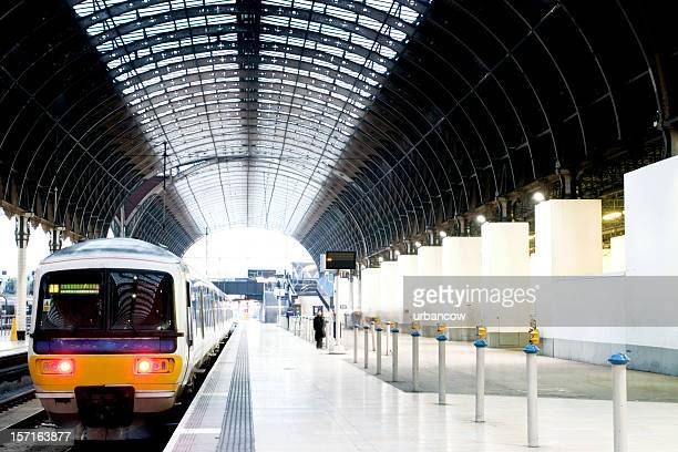 Tren en la plataforma