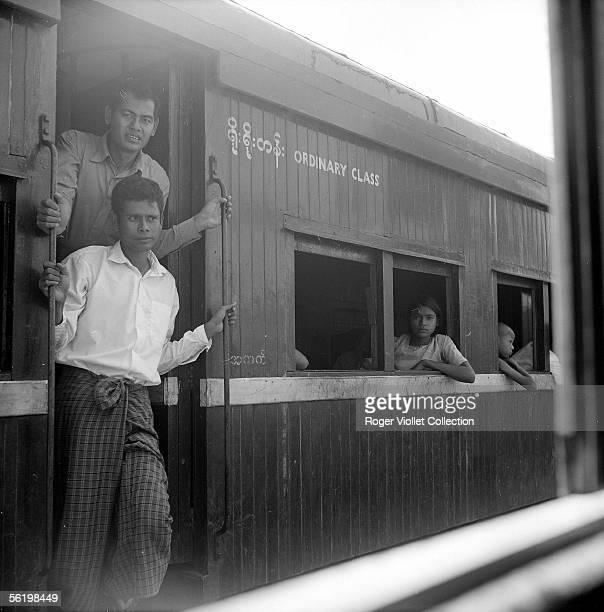 Train Burma about 1960
