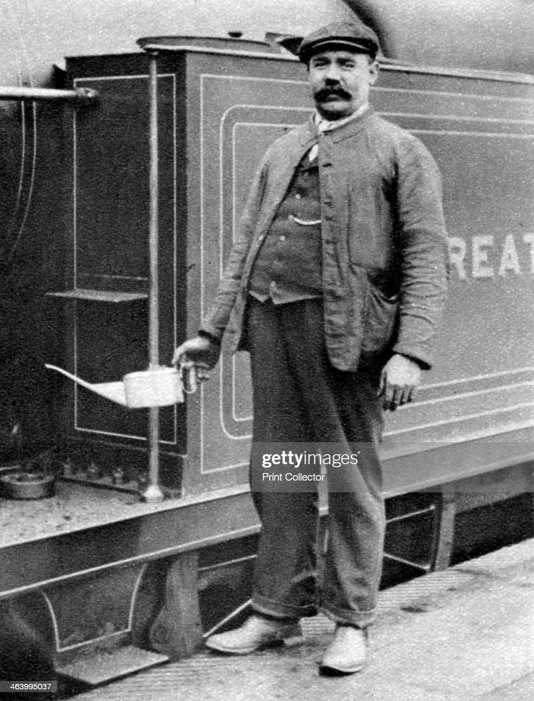 A train driver London 19261927 From Wonderful London volume II edited by Arthur St John Adcock published by Amalgamated Press