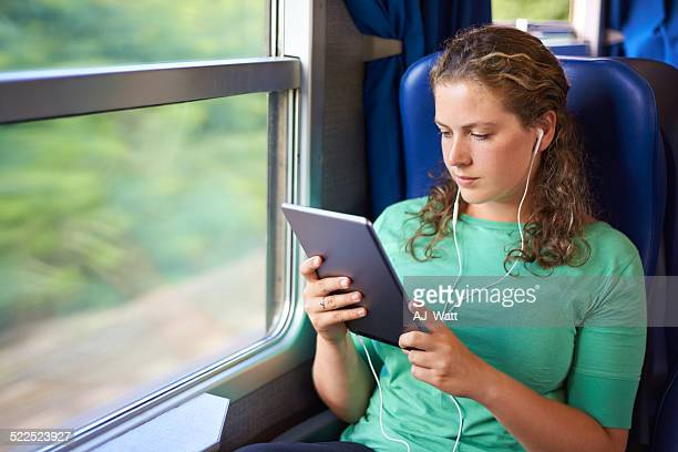 Train entertainment