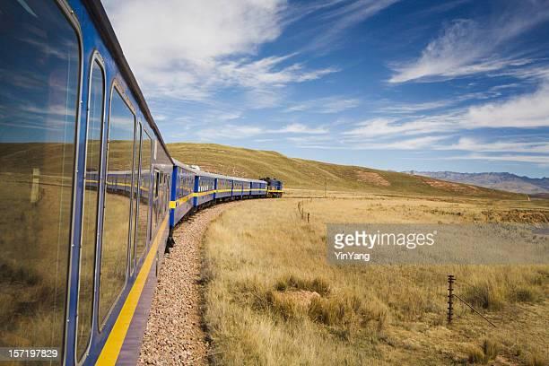 鉄道のアンデス山脈