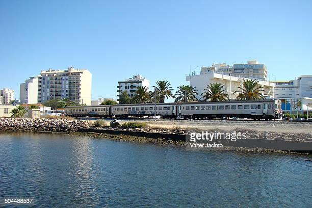 Train in the city