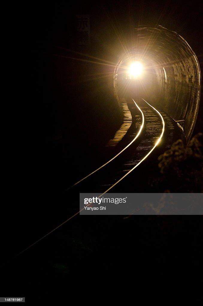Train light : Stock Photo