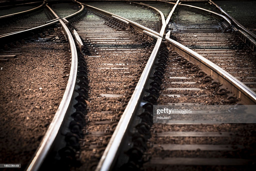 train line crossing