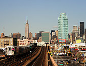 7 Train, Manhattan from Queens