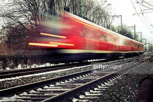 Zug, motion blur