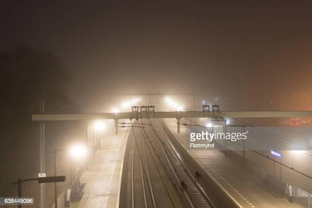 Train station in Halfweg