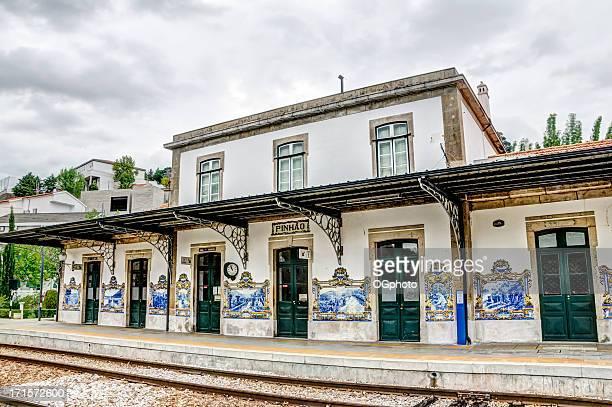 Estação ferroviária de Cidade de Pinhao, Portugal