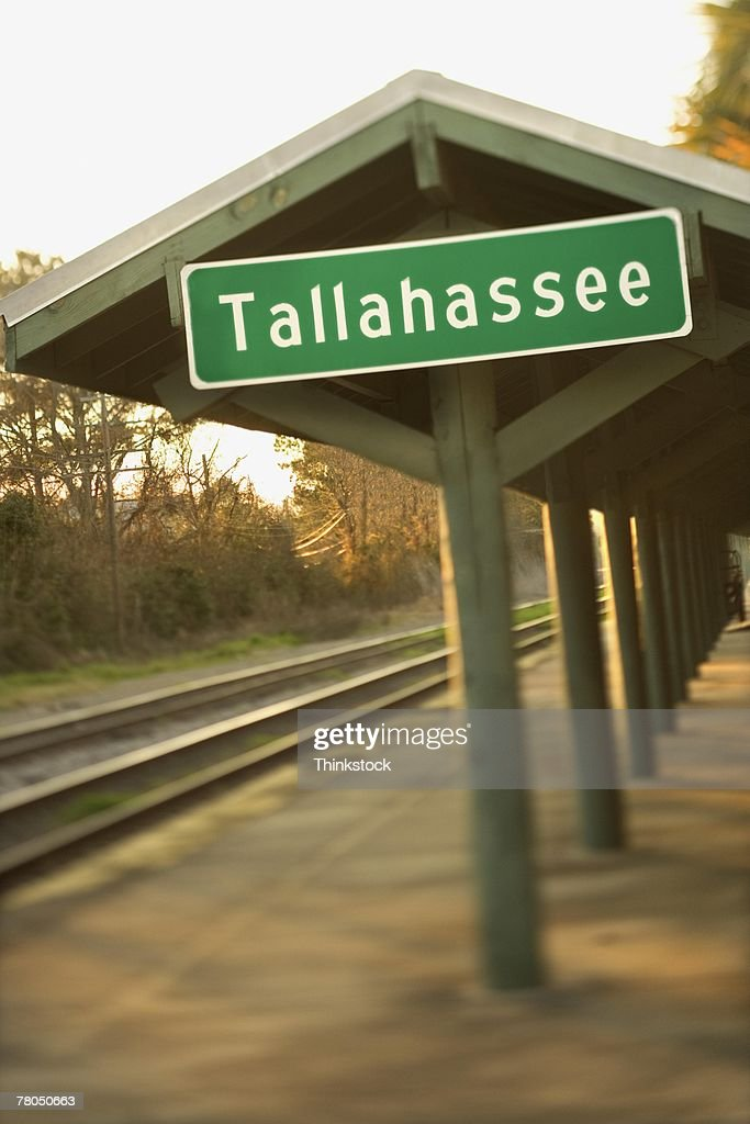Train station shelter in Tallahassee, Florida
