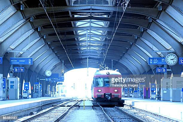Train station, Zurich, Switzerland