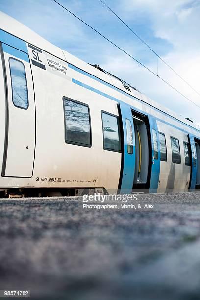 A train, Sweden.