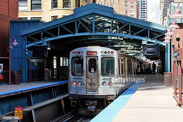 Train to Midway Airport, Chicago
