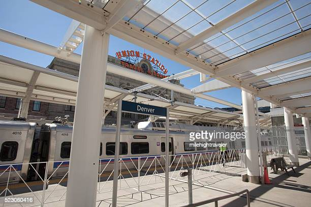 Train to the Plane Grand Opening Denver Union Station Colorado