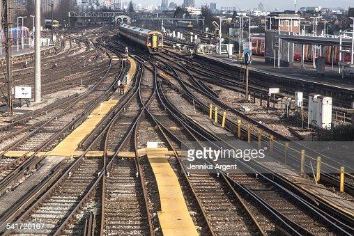 Train tracks at CLapham Junction