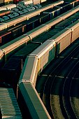 Train yard, Baltimore