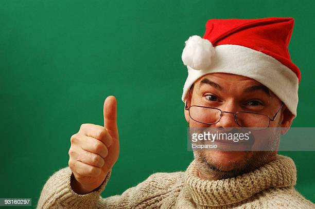 Auszubildender Santa