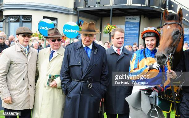 Trainer Aidan O'Brien Tim Hyde John Magnier MV Magnier and jockey Joseph O'Brien with winning horse Dick Whittington who won the Keeneland Phoenix...
