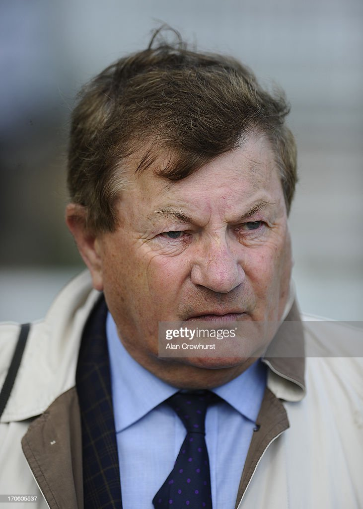 Trainer Alan Swinbank poses at York racecourse on June 15, 2013 in York, England.