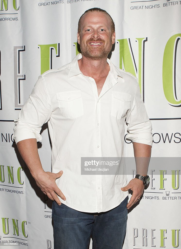 Trainer Doug Hall attends PREFUNC At The Celebrity Sweat VIP Party at The Palm on July 16, 2014 in Los Angeles, California.