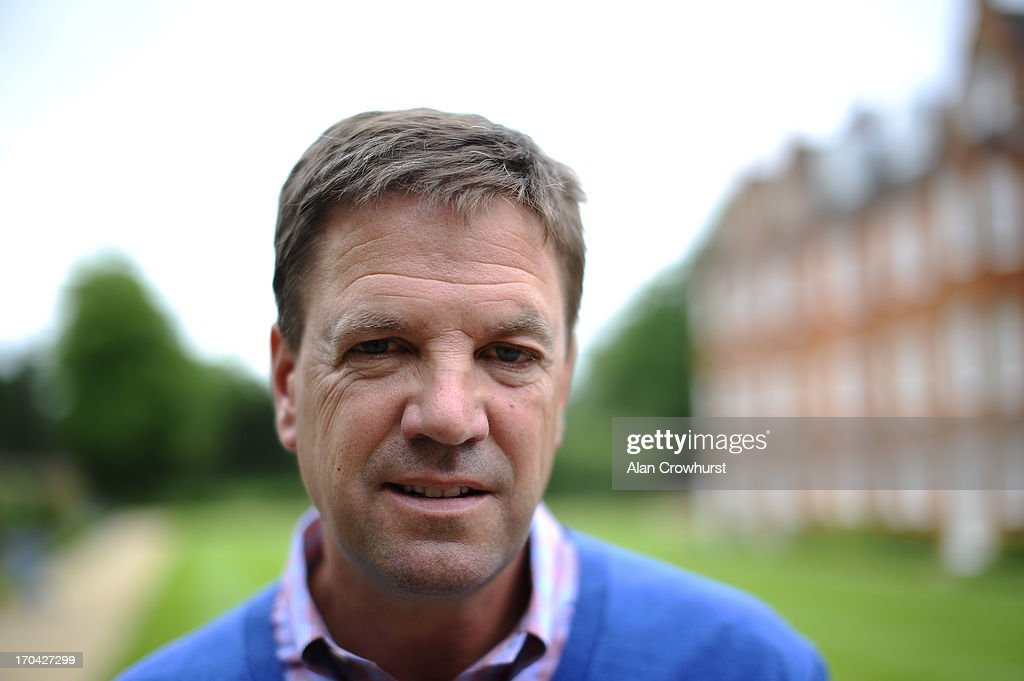 USA trainer Graham Motion poses on June 13, 2013 in Newmarket, England.