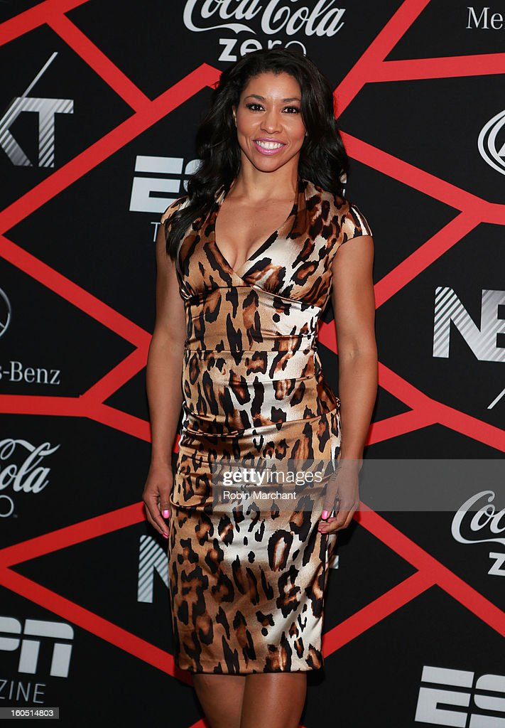 Trainer Jeanette Jenkins attends ESPN The Magazine's 'NEXT' Event at Tad Gormley Stadium on February 1, 2013 in New Orleans, Louisiana.