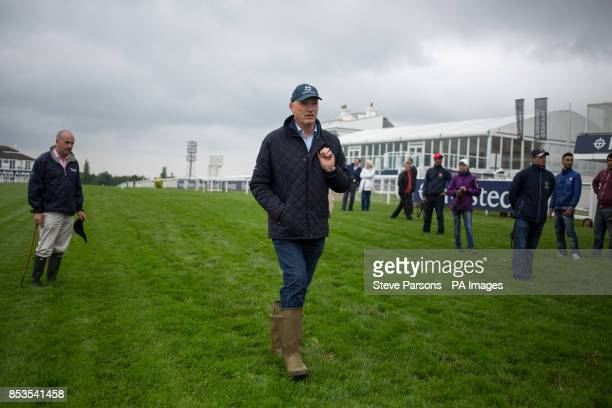 Trainer John Gosden during Breakfast with the Stars at Epsom Downs Racecourse Surrey PRESS ASSOCIATION Photo Picture date Thursday May 29 2014 See PA...