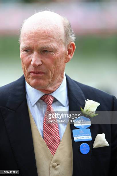 Trainer John Gosden during day three of Royal Ascot at Ascot Racecourse