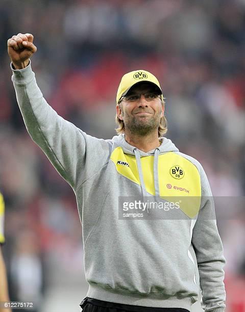 Trainer Jürgen Juergen Klopp Borussia Dortmund Fussball 1 Bundesliga VFB Stuttgart Borussia Dortmund 11 Saison 2011 / 2012