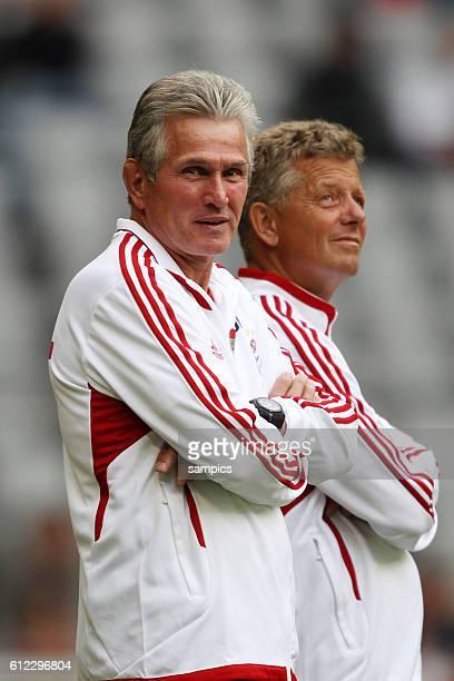 Trainer Jupp Heynckes FC Bayern Munchen und Co Trainer Peter Hermann FC Bayern Munchen Saisonstart des FC Bayern Munchen fur die Saison 2011 / 2012...